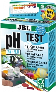 JBL Test pH 7,4-9,0 (25348) - Zastosowanie Malawi, Tanganika, Sulawesi.
