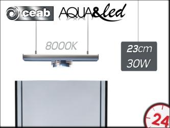 CEAB Aqua&Led 1x30W 8000K (ALJX3100) - Oświetlenie Led do akwarium słodkowodnego i roślinnego.