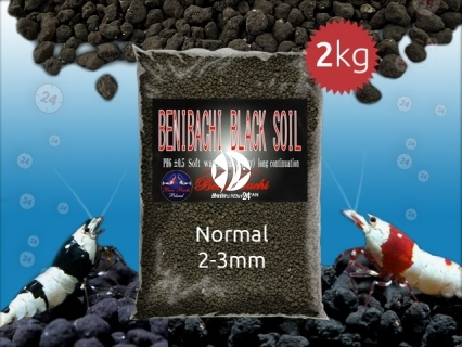 BENIBACHI Black Soil - Japońskie podłoże dla wysokich klas krewetek