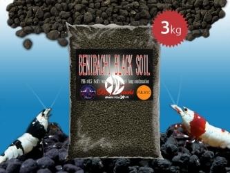BENIBACHI Black Soil 3kg [Normal, Fulvic] | Japońskie podłoże dla wysokich klas krewetek