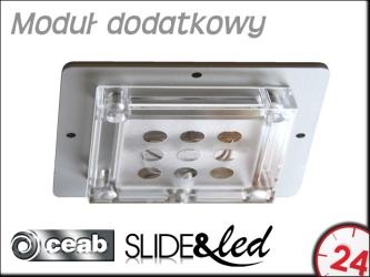 CEAB Moduł dodatkowy ALJ500R 1X5W Rosso/Red do Aqua&Led i Slide&Led (ALJ500R)