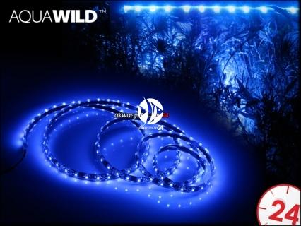 AQUAWILD Moon-Led Niebieski (AQMLEDN2) - Oświetlenie nocne do akwarium, najwyższa jakość.