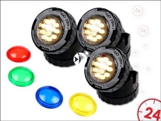 AQUA NOVA NPL1-LED3 - Zestaw oświetlenia LED do oczka wodnego