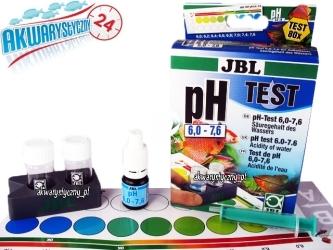 JBL Test pH 6,0-7,6 - Zastosowanie w akwariach roślinnych i dekoracyjnych.