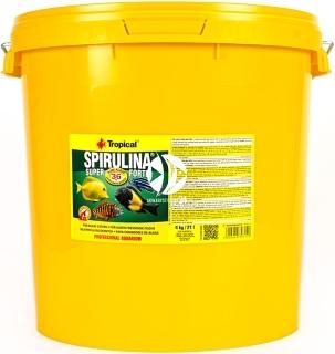 TROPICAL Spirulina Super Forte - Roślinny pokarm płatkowy z wysoką zawartością spiruliny (36%)