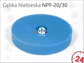 Aqua-Nova Gąbka niebieska do filtra NPF-20 i NPF-30
