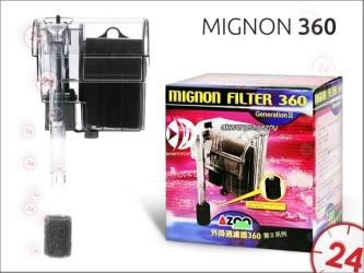 AZOO MIGNON 360 (AZ13102) - Filtr kaskadowy o przepływie 360l/h