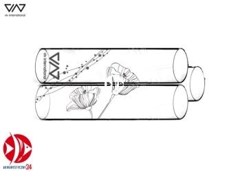 VIV Szklany domek dla krewetek (3 rurki) [120-01] | Dekoracyjna kryjówka umożliwiająca obserwację krewetek