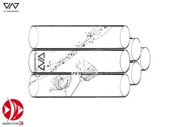 VIV Szklany domek dla krewetek (6 rurek) [120-02] | Dekoracyjna kryjówka umożliwiająca obserwację krewetek