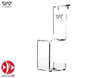 VIV Akrylowa podstawka do karmnika - Możliwość powieszenia na szybie akwarium lub postawienia na szafce
