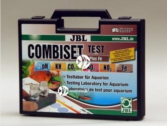 JBL Test Combi Set + Fe - Walizka do testowania pH, Kh, Fe, NO2, NO3