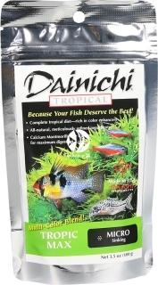 DAINICHI Tropic Max 100g Micro (14101) - Pokarm premium dla ryb tropikalnych
