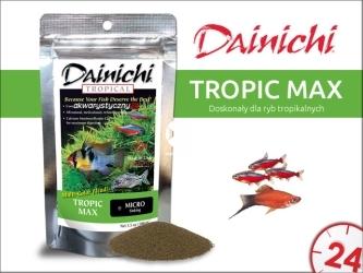 DAINICHI Tropic Max (100g) micro (14101) - Pokarm premium dla ryb tropikalnych
