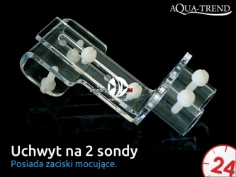AQUA TREND Uchwyt na 2 sondy akwarystyczne (ATRS0014)