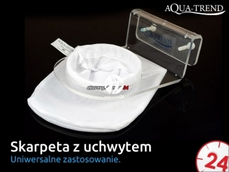 AQUA TREND Skarpeta filtracyjna z uchwytem (zestaw) (ATRS0018)