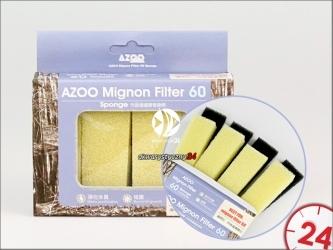 Azoo Wkłady wymienne do filtra Mignon 60