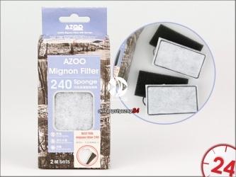 Azoo Wkłady wymienne do filtra Mignon 240