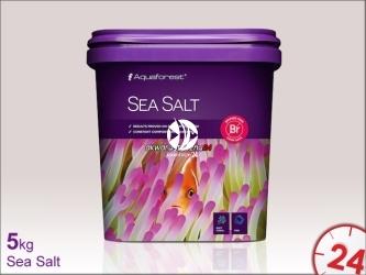 AQUAFOREST Sea Salt - Syntetyczna sól morska przeznaczona do akwariów z obsadą rybną