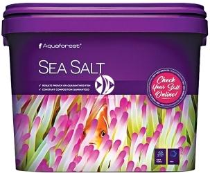 AQUAFOREST Sea Salt (101029) - Syntetyczna sól morska przeznaczona do akwariów z obsadą rybną