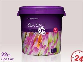 Aquaforest Sea Salt 22kg   Syntetyczna sól morska przeznaczona do akwariów z obsadą rybną