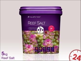 Aquaforest Reef Salt 5kg | Syntetyczna sól morska stworzona z myślą o hodowli koralowców