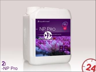 Aquaforest -NP Pro 2L   Polimery w płynie przyspieszające rozwój bakterii
