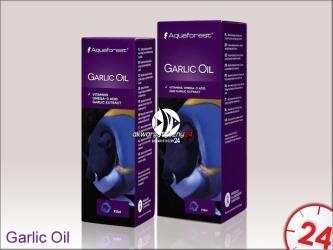 Aquaforest Garlic Oil 50ml | Środek zawierający witaminy, kwas omega-3 oraz naturalny wyciąg z czosnku