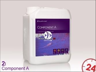 Aquaforest Component A 2L   Przeznaczony jest do uzupełniania strontu i baru w akwarium morskim