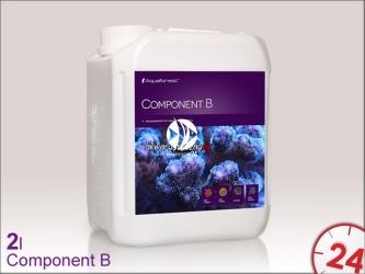 Aquaforest Component B 2L   Przeznaczony jest do uzupełniania metali ciężkich w akwarium morskim
