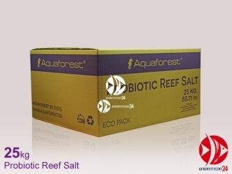 Aquaforest Probiotic Reef Salt 25kg | Syntetyczna sól morska stworzona z myślą o hodowli koralowców