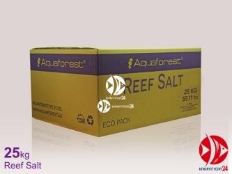Aquaforest Reef Salt 25kg | Syntetyczna sól morska stworzona z myślą o hodowli koralowców