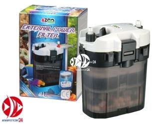 AZOO External Power Filter | Filtr kubełkowy z możliwością podwieszenia na szybie akwarium.