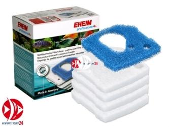 EHEIM Komplet gąbek (biała + niebieska) (2617710) | Wkłady filtracyjne do filtra Eheim Professionel 4+ 2271 2273 2275 2371 2373 2274
