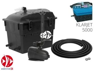 Aquael KlarJet 5000 (102591) | Zestaw filtracyjno fontannowy do oczek do 5000l