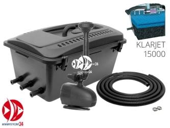 Aquael KlarJet 15000 (102576) | Zestaw filtracyjno fontannowy do oczek 8-15000l