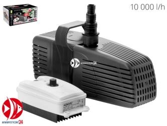 Aquael Aquajet PFN Plus 10000 | Wysoko wydajna pompa z regulacją do oczek i stawów