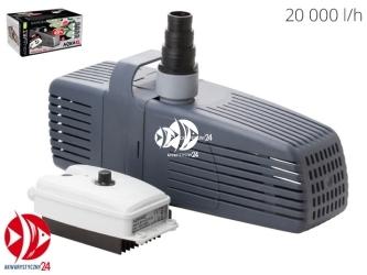 Aquael Aquajet PFN Plus 20000 (107974) | Wysoko wydajna pompa z regulacją do oczek i stawów