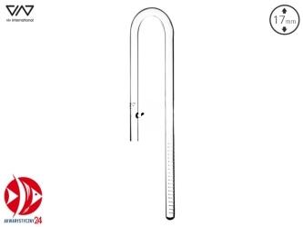 VIV Wlot szklany Lily Pipe 17mm (200-03) - Charakteryzuje się optymalnym przepływem wody