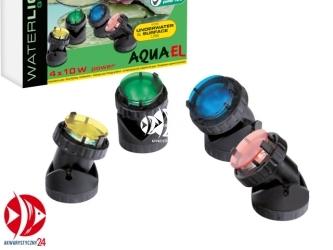 AQUAEL Waterlights Quadro (100497) - Lampa Led do oczka wodnego 4x10W