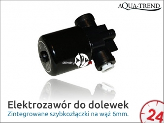 AQUA TREND Elektrozawór do dolewek 12V DC (AT0026)