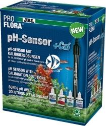 JBL ProFlora pH-Sensor +Cal (63188) - Uniwersalna elektroda ze złączem BNC i płynami kalibrujacymi.