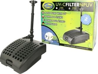 AQUA NOVA UV-C Filter NPUV-2000 (NPUV-2000) - Pompa fontannowa z lampą UV