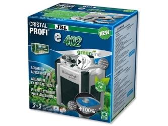 JBL CRISTALPROFI GREENLINE e402   Energooszczędny filtr zewnętrzny do akwarium 40-120l