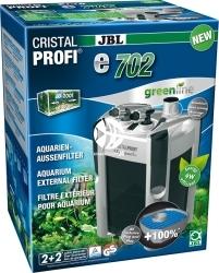 JBL CristalProfi Greenline e e702 (60281) - Energooszczędny filtr zewnętrzny do akwarium