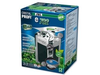 JBL CRISTALPROFI GREENLINE e702   Energooszczędny filtr zewnętrzny do akwarium 60-200l