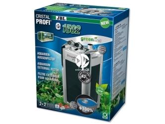 JBL CRISTALPROFI GREENLINE e1502   Energooszczędny filtr zewnętrzny do akwarium 160-600l