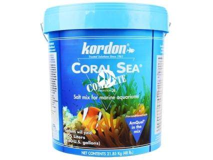 KORDON Coral Sea Complete Z Amquel'em (22250) - Doskonała mieszanka soli do akwarium morskiego i rafowego