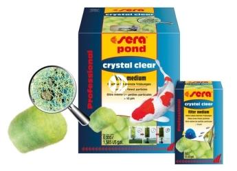 SERA Crystal Clear 12 sztuk - Mechaniczny wkład do filtra do akwarium