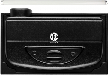 DIVERSA Pokrywa Selecto T8 50x30cm (1x14W) (118334) - Obudowa do akwarium ze świetlówką T8 z tworzywa sztucznego