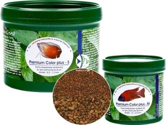 NATUREFOOD Premium Color Plus - Tonący pokarm wybarwiający dla ryb wszystkożernych